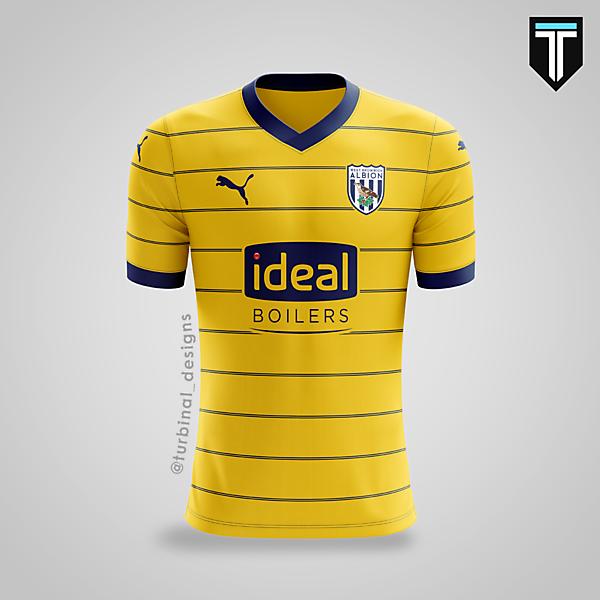 West Bromwich Albion x Puma - Away Kit