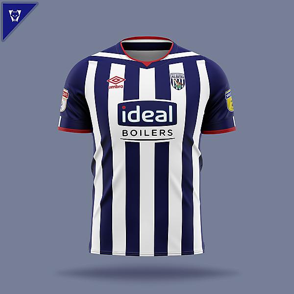 West Bromwich Albion x Umbro home concept