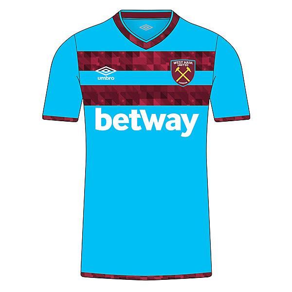 West Ham 18/19 Away kit
