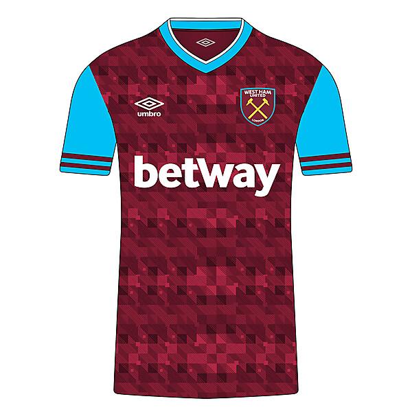West Ham 18/19 Home kit