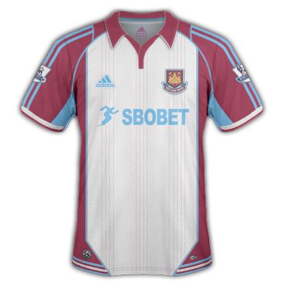 West Ham United 2010/11 Away Shirt