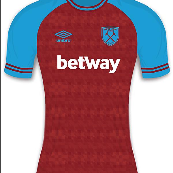 West Ham United home shirt
