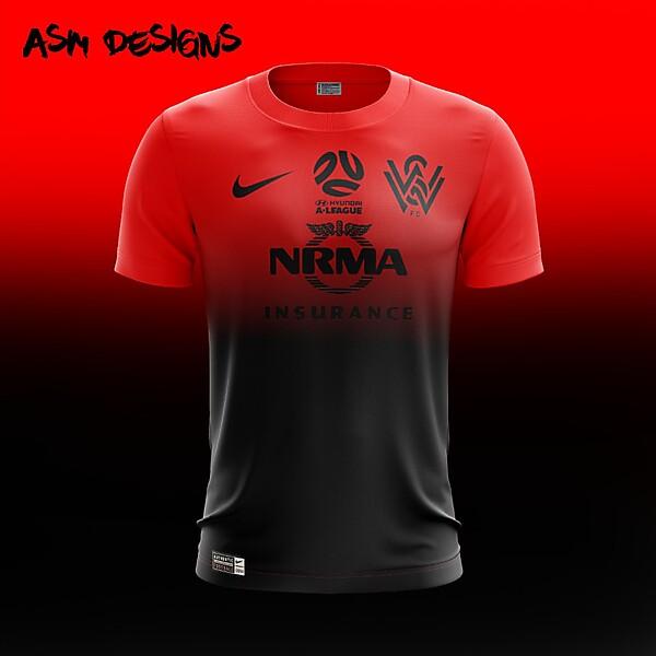 Western Sydney Wanderers FC Nike 2018 Home Kit