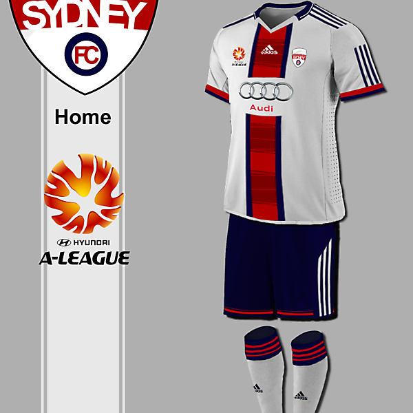 Western Sydney Fantasy Kit Concept