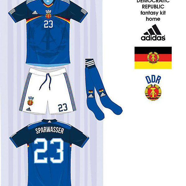 WHAT IF... East Germany Fantasy Kit (Adidas)