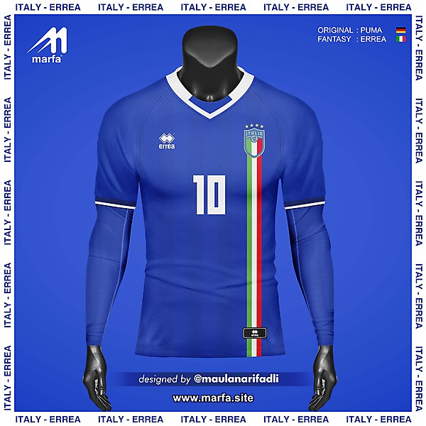WHAT IF ITALY NT JERSEY SPONSORED BY LOCAL APPAREL