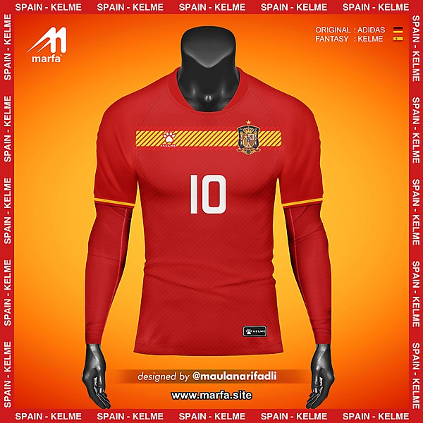 WHAT IF SPAIN NT JERSEY SPONSORED BY LOCAL APPAREL