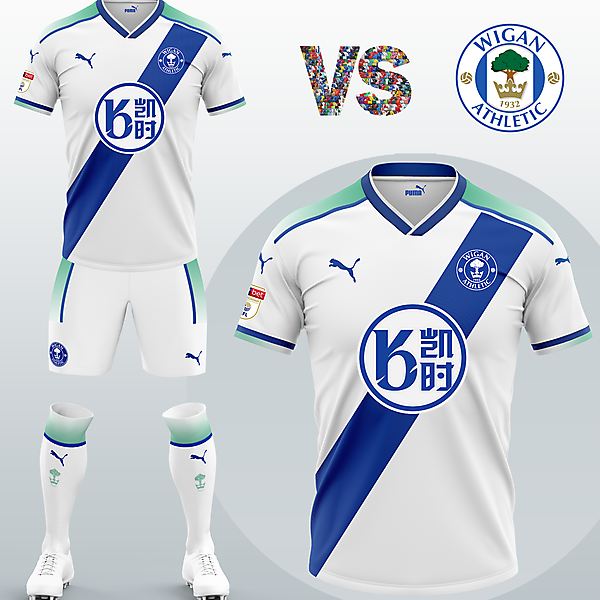 Wigan Athletic FC Third kit with Puma (Concept 2020/21)