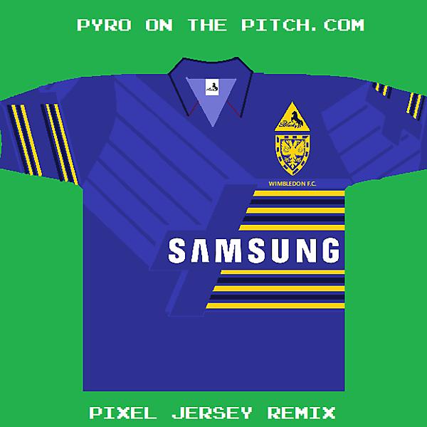 Wimbledon FC-Blacky-1990