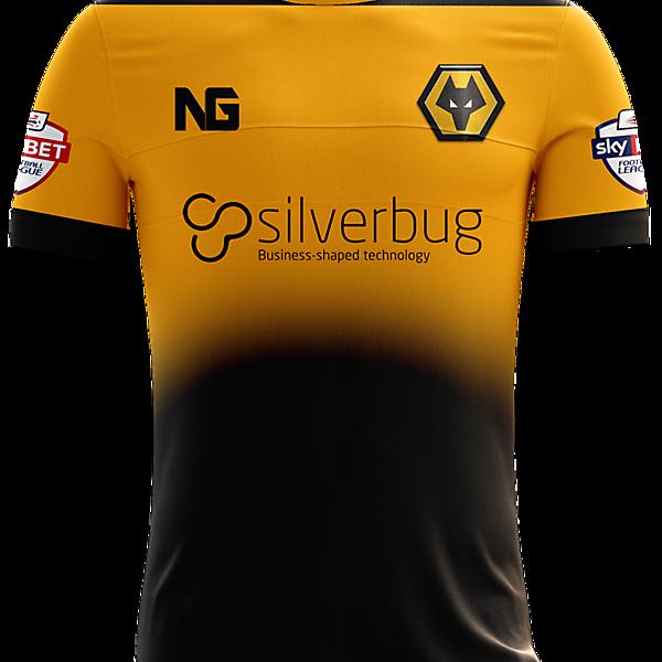 Wolverhampton Wanderers Home Jersey concept