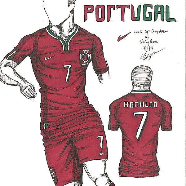 World Cup Competition - Round of 16 - Portugal - By Irvingperceni