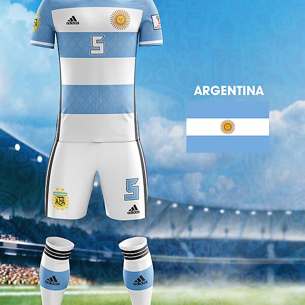 World Cup Flag Kit: ARG
