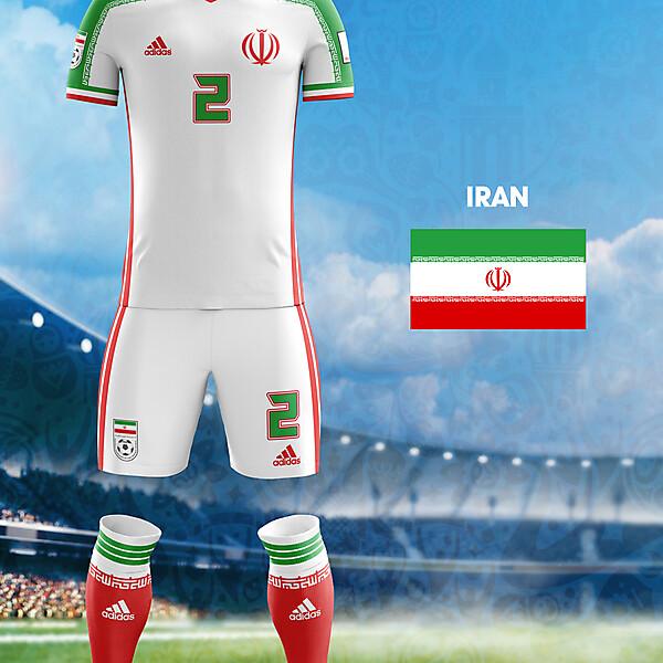 World Cup Flag Kit: IRAN