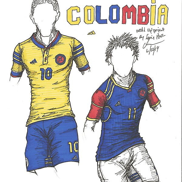 World Cup Project by Irvingperceni - Group C - Colombia