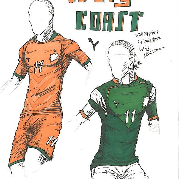 World Cup Project by Irvingperceni - Group C - Ivory Coast