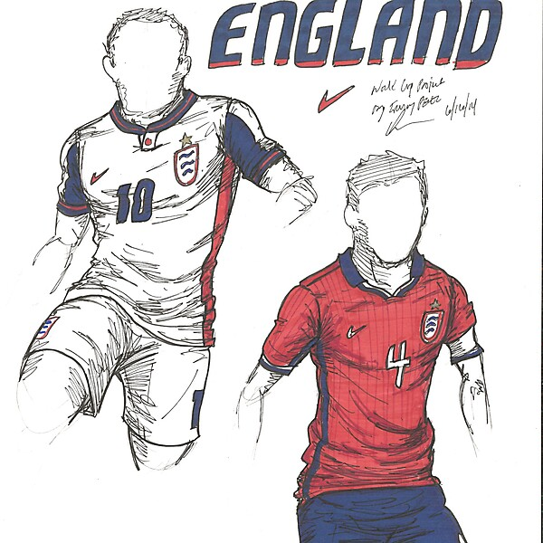 World Cup Project by Irvingperceni - Group D - England