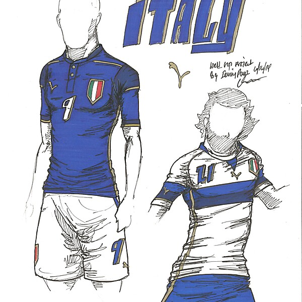 World Cup Project by Irvingperceni - Group D - Italy