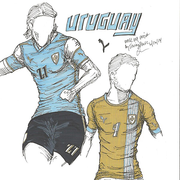 World Cup Project by Irvingperceni - Group D - Uruguay