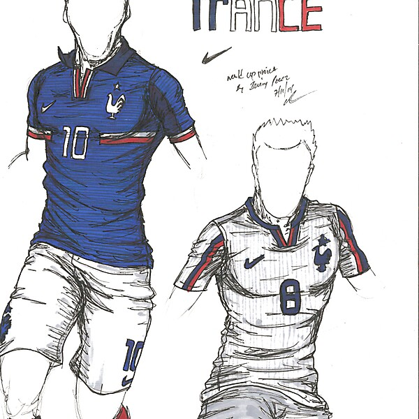 World Cup Project by Irvingperceni - Group E - France