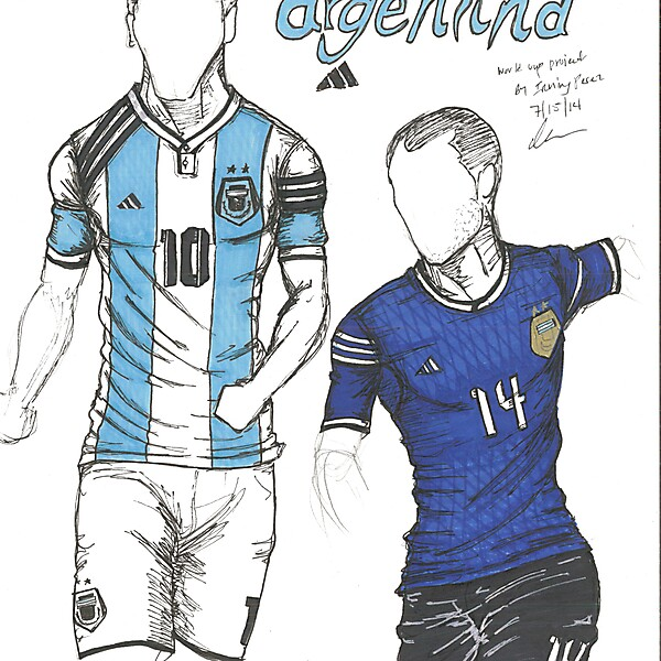 World Cup Project by Irvingperceni - Group F - Argentina