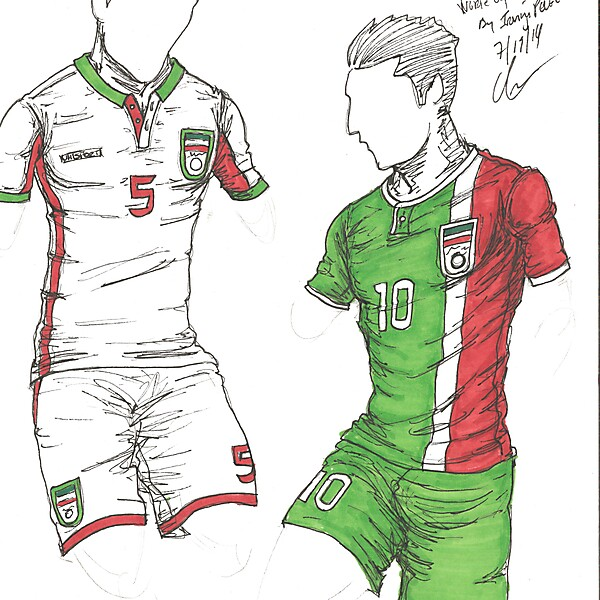 World Cup Project by Irvingperceni - Group F - Iran