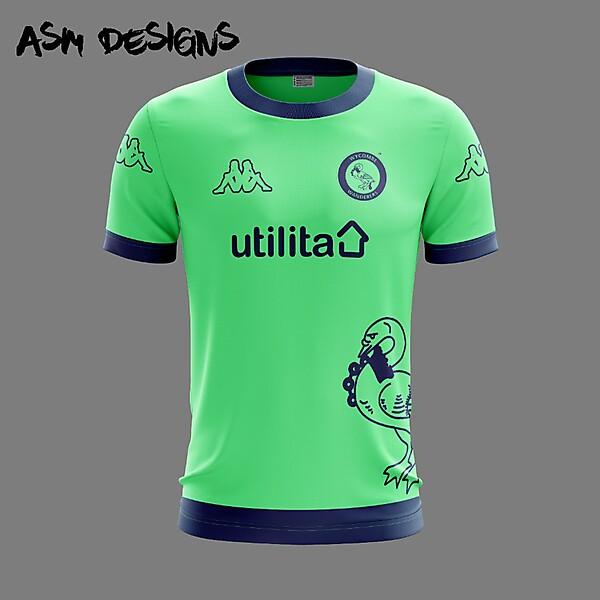 Wycombe Wanderers F.C. Kappa 2018 Alternate kit