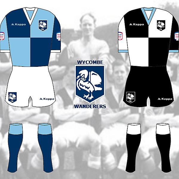 Wycombe Wanderers Kits