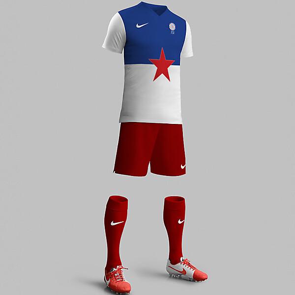 Yugoslavia Away Kit