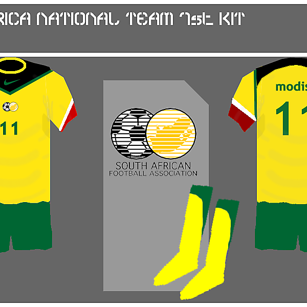 South Africa 1st kit
