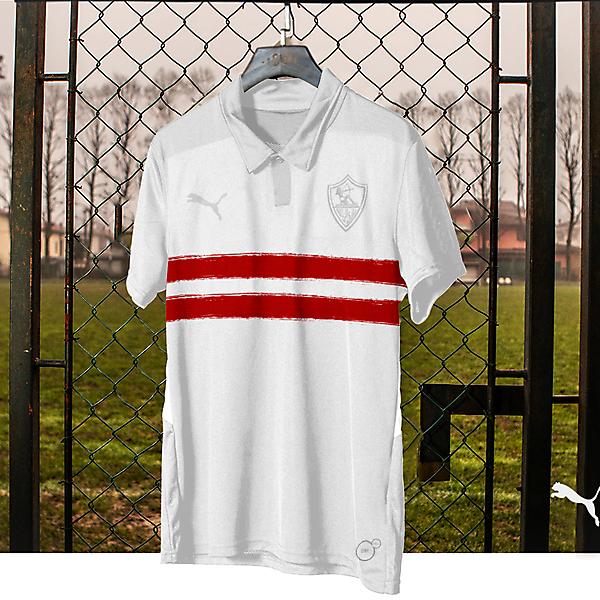 Zamalek football shirt
