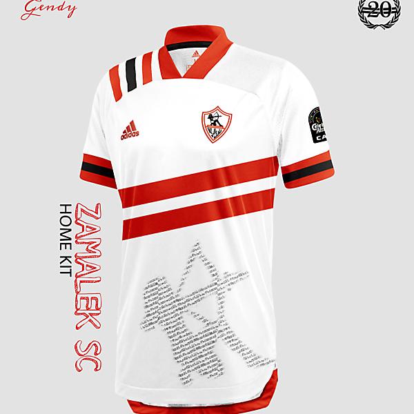 Zamalek Home Kit Concept