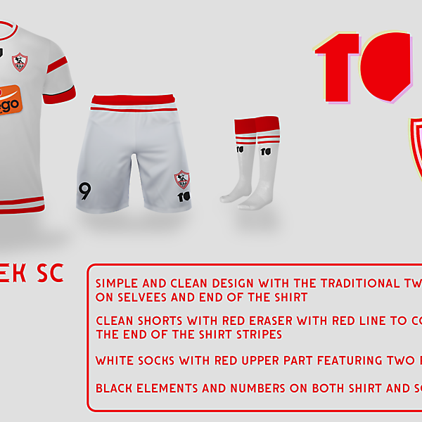 Zamalek SC Home Kit
