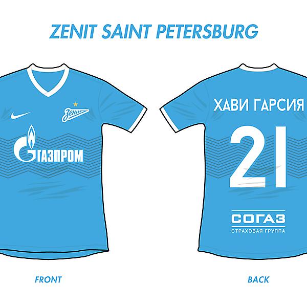 Zenit Saint Petersburg Home