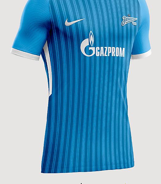 Zenit Saint Petersburg home shirt