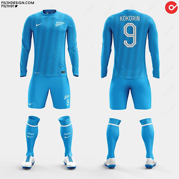 Zenit x Nike | Home Kit