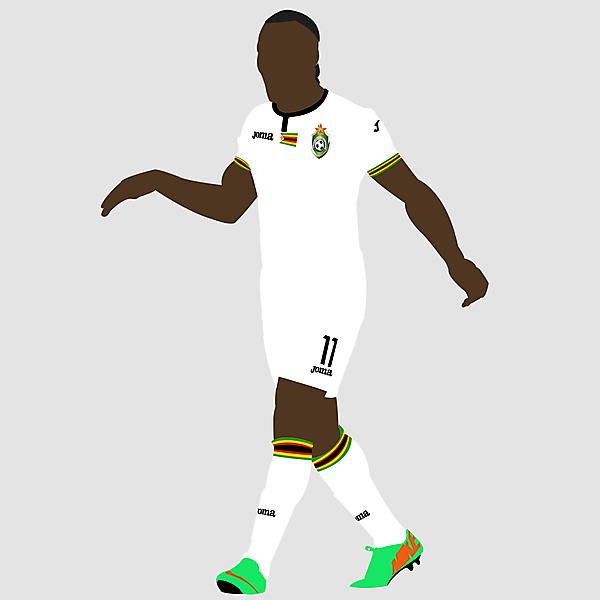 Zimbabwe x Joma - Away kit