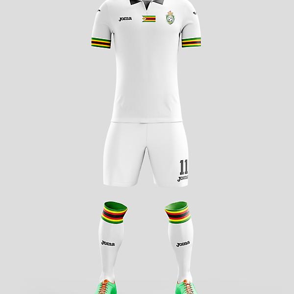 Zimbabwe x Joma - Away kit // by Istra2kDesign