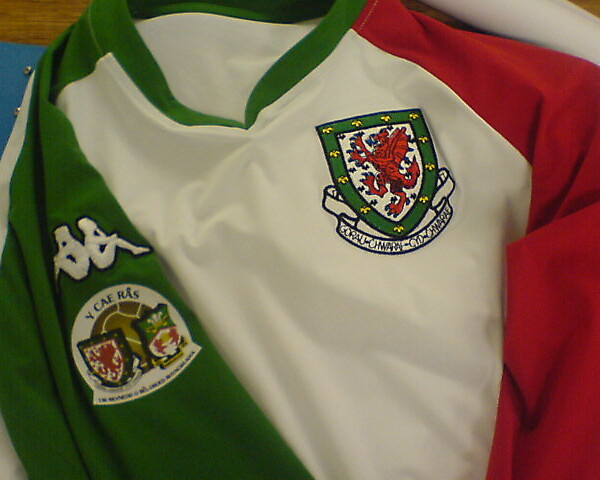 Wales celebrating 100 years playing in wrexham