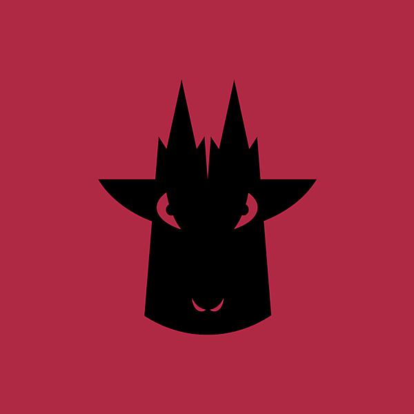 1 FC Koln alternate black on red logo