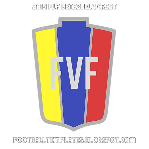 2014  FVF Venezuela Crest [ Transparent PNG ]