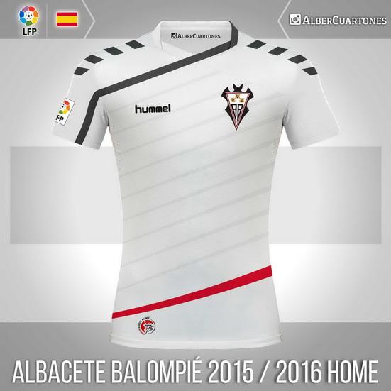 Albacete Balompié 2015 / 2016 Home Shirt