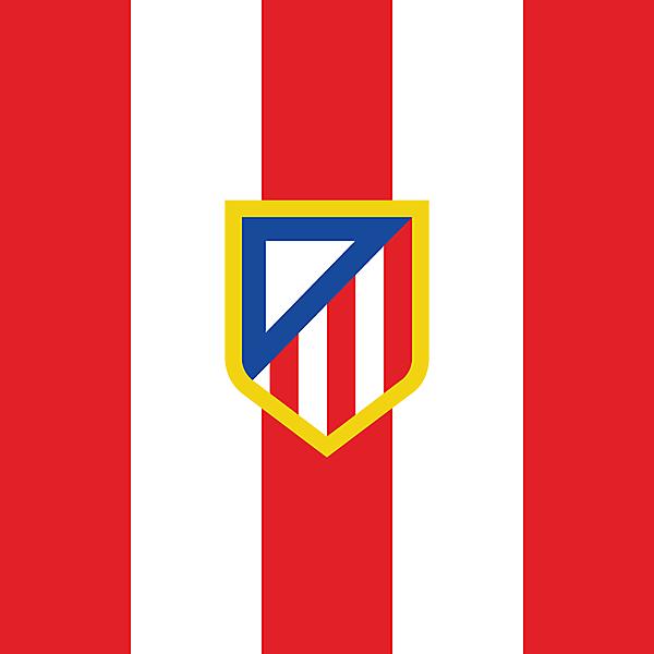 Atletico Madrid Minimalist