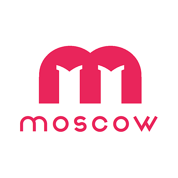 Bank of Moscow sponsor logo concept .