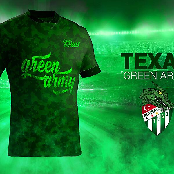 Bursaspor Texas Green Army