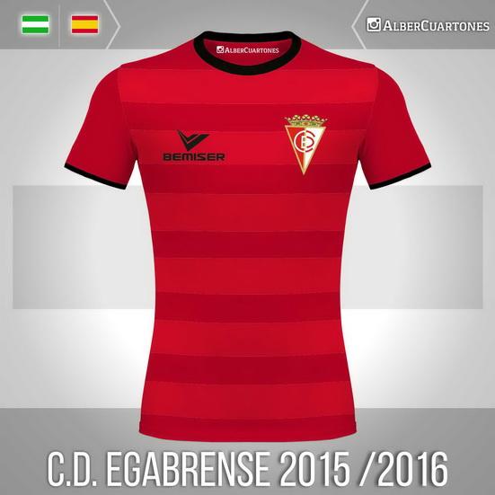 C.D. Egabrense 2015 / 2016 Home Shirt