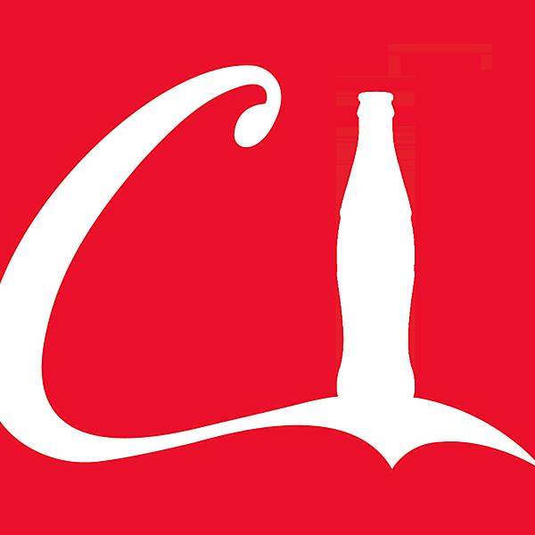 Coca - Cola sponsor logo concept .