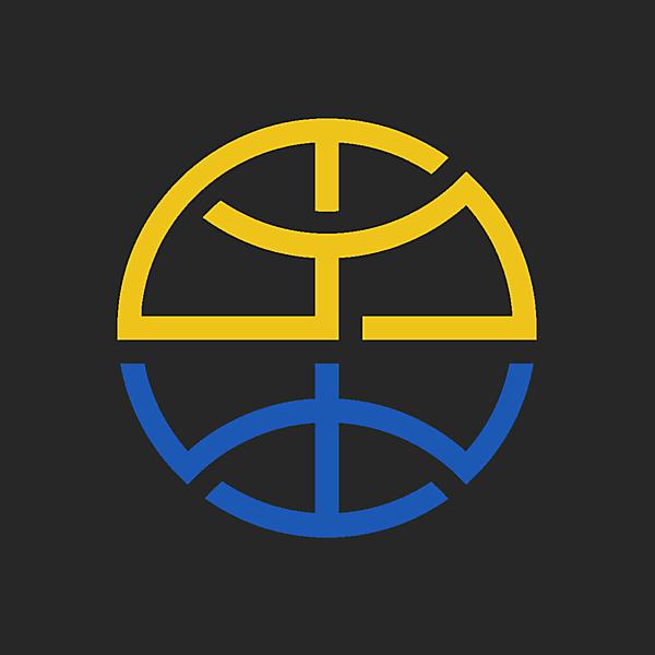 FC Golden State Warriors logo concept.