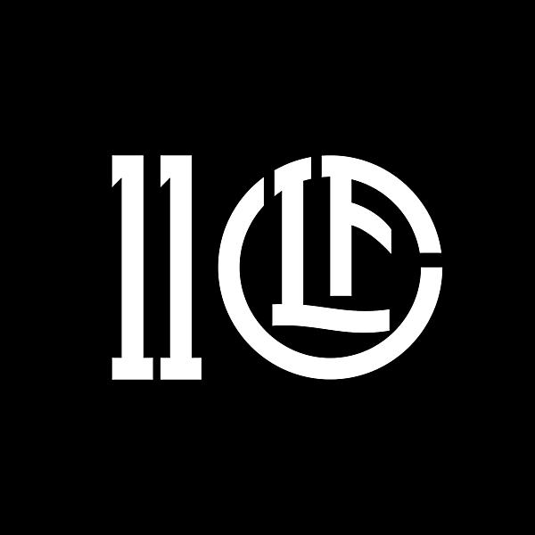 FC Lugano 110 years anniversary logo concept