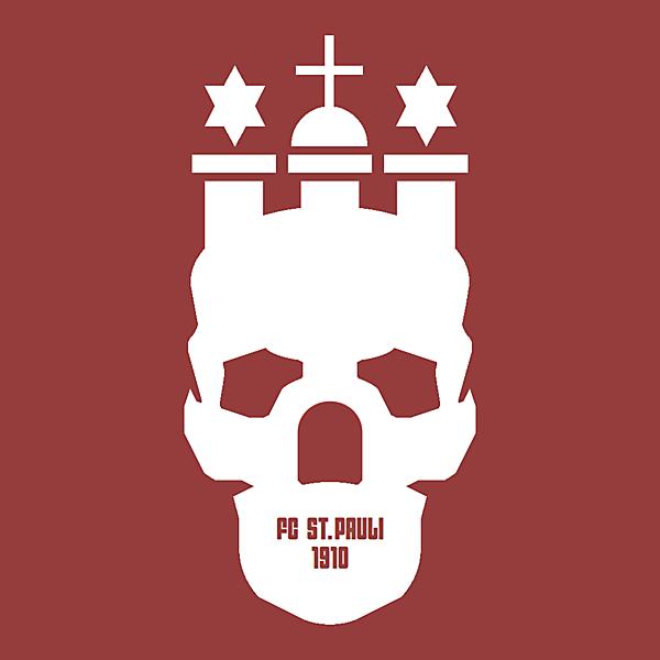 FC St. Pauli alternative logo.