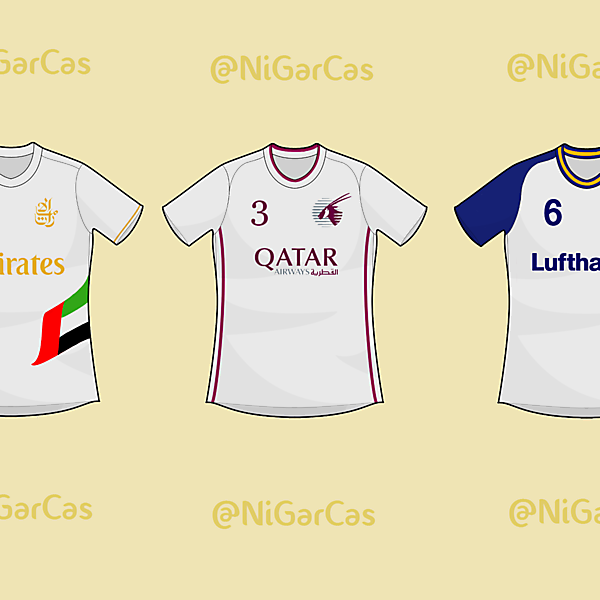 If Airlines were football teams - Concept
